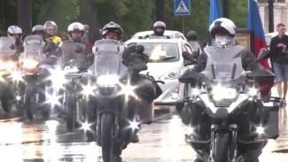 Крестный мотоход во главе со священником РПЦ прибыл в Хабаровск