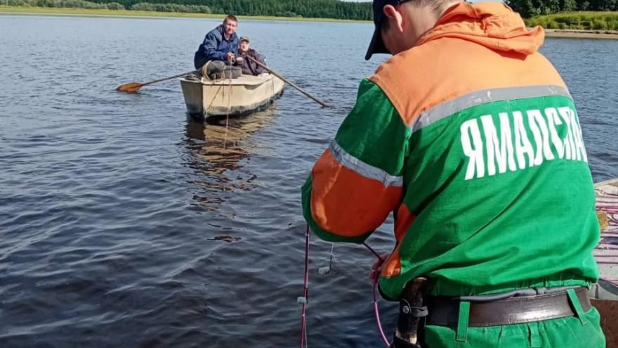 Ямалец выпрыгнул из лодки на ходу и пропал