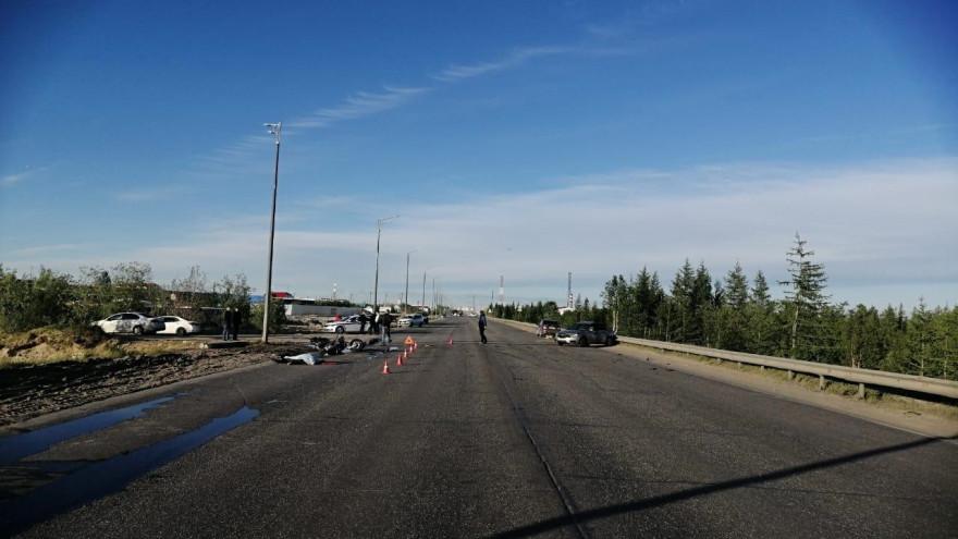 Машина не уступила дорогу: в страшном ДТП на Ямале погиб мотоциклист
