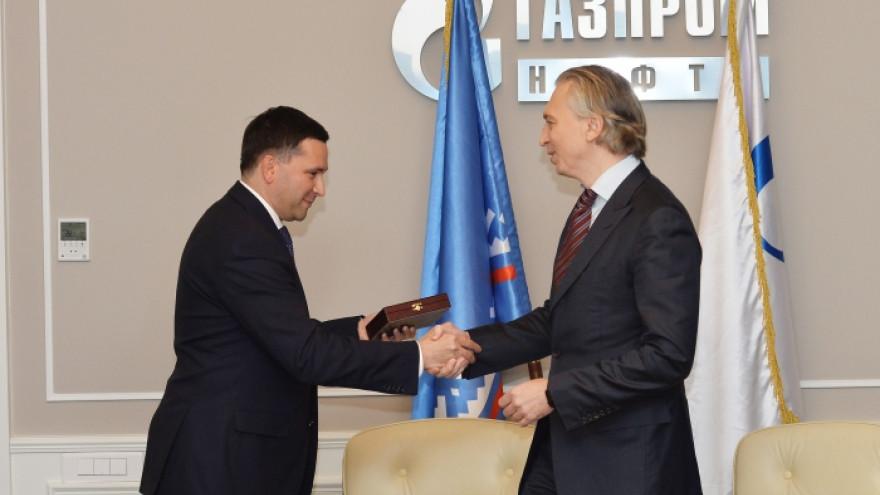 Правительство Ямала и «Газпром нефть» подписали соглашение о партнерстве
