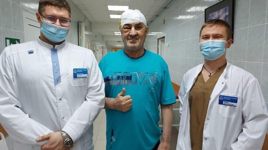 Новоуренгойские медики спасли северянина с опухолью головного мозга
