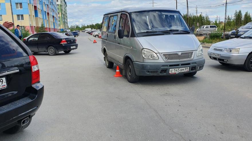 На Ямале водитель ГАЗели сбил ребенка