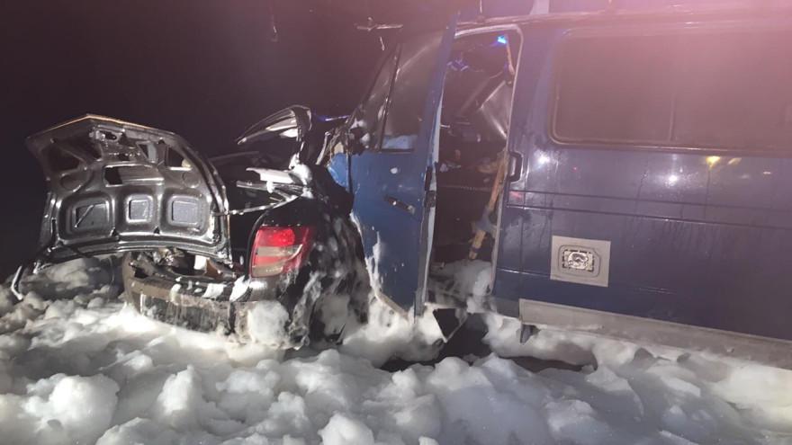 На трассе Сургут - Салехард произошла смертельная авария