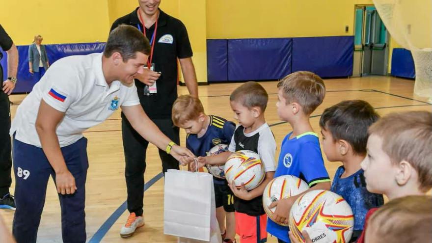 Дмитрий Артюхов: «Сделаем все возможное, чтобы спорт был доступен для каждого ямальца»
