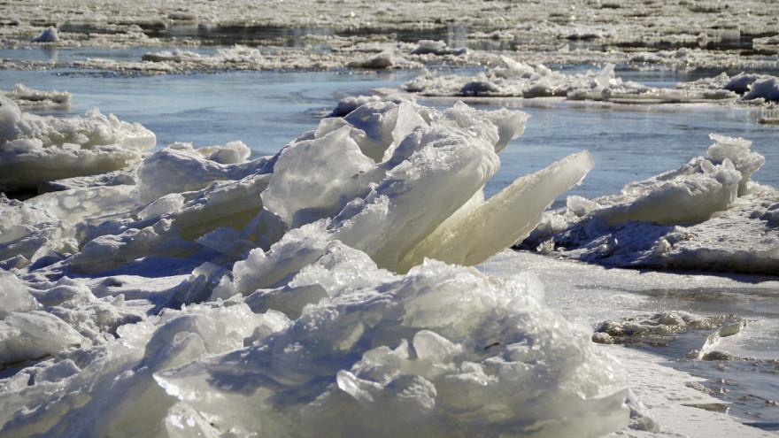 Ледоход на Ямале - 2021: актуальные данные на 15 мая
