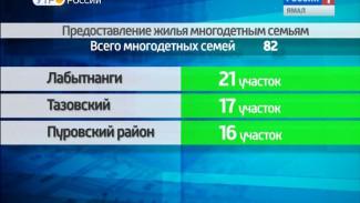 С начала года на Ямале 82 многодетные семьи получили земельные участки
