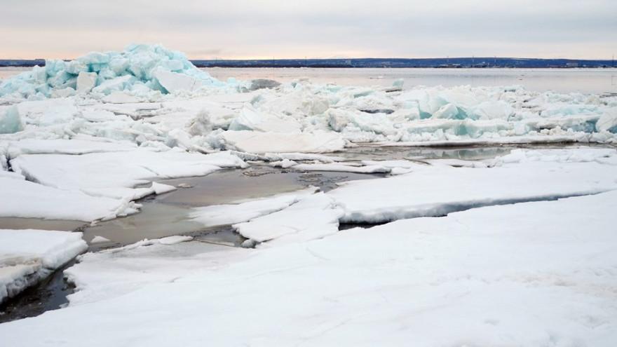 Ледоход на Ямале: за вскрытием рек можно следить в реальном времени