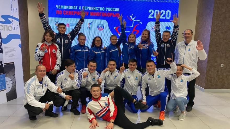 Ямальские спортсмены завоевали две медали на чемпионате и первенстве России по северному многоборью