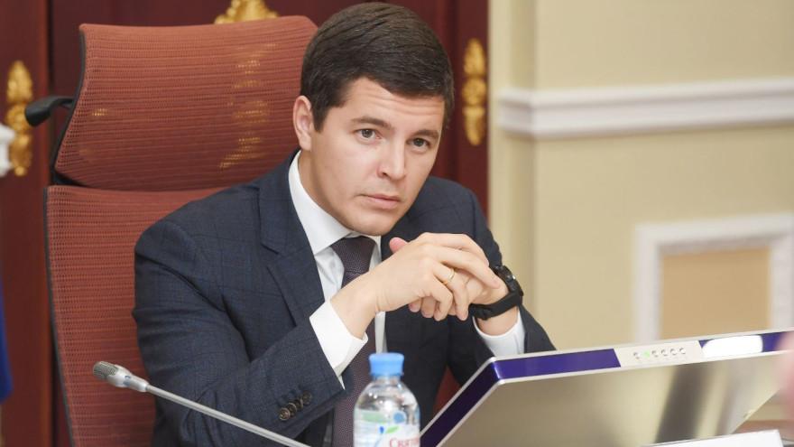 Дмитрий Артюхов поздравил ямальцевс Днём ветеранов боевых действий