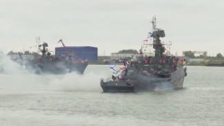 В Архангельске прошёл парад военных кораблей в честь конвоя «Дервиш»