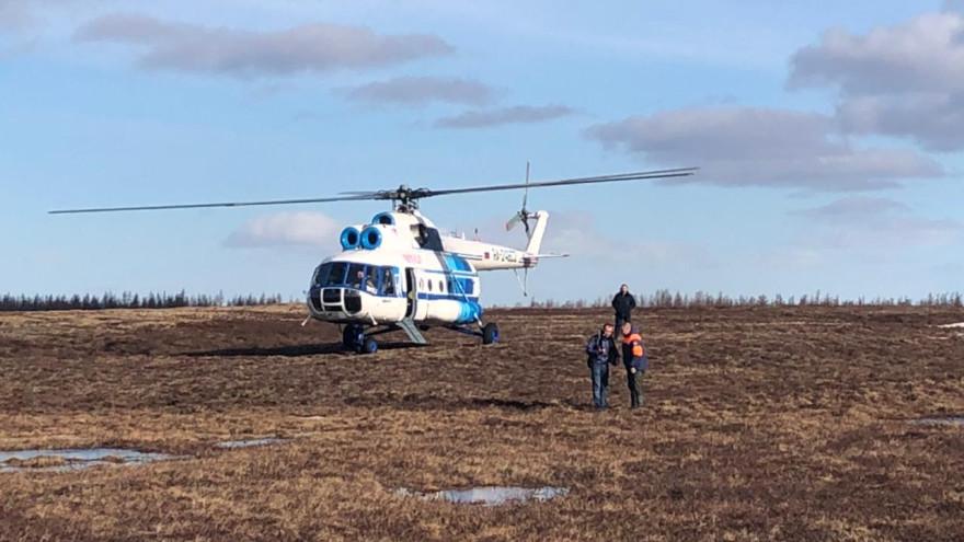 Не смогли добраться до чума: на Ямале для поиска тундровиков привлекли авиацию