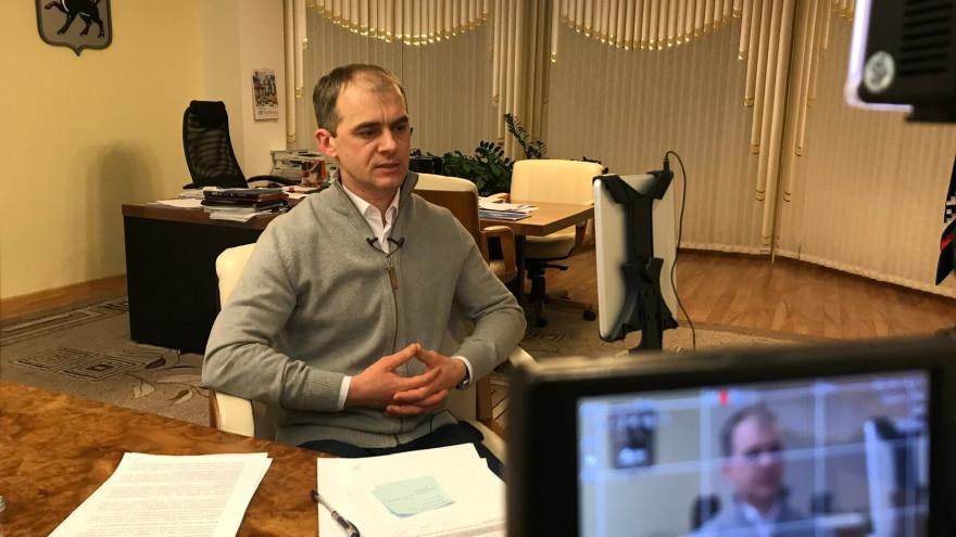 Открытие ледового катка, ремонт дорог и переселение: Алексей Титовский рассказал о планах на 2021