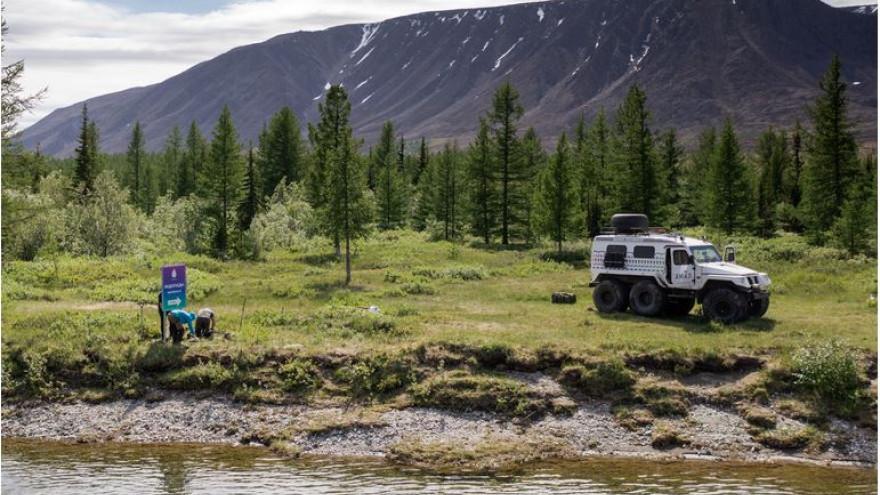 На тропах природного парка «Полярно-Уральский» установили туристические знаки