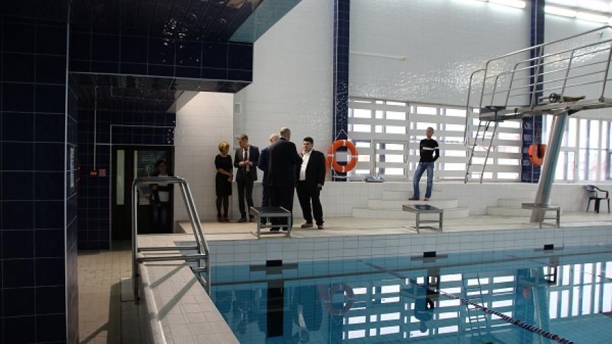 В Салехарде открыли городской бассейн