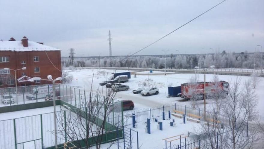 В Ноябрьске горел жилой многоквартирник: есть пострадавший