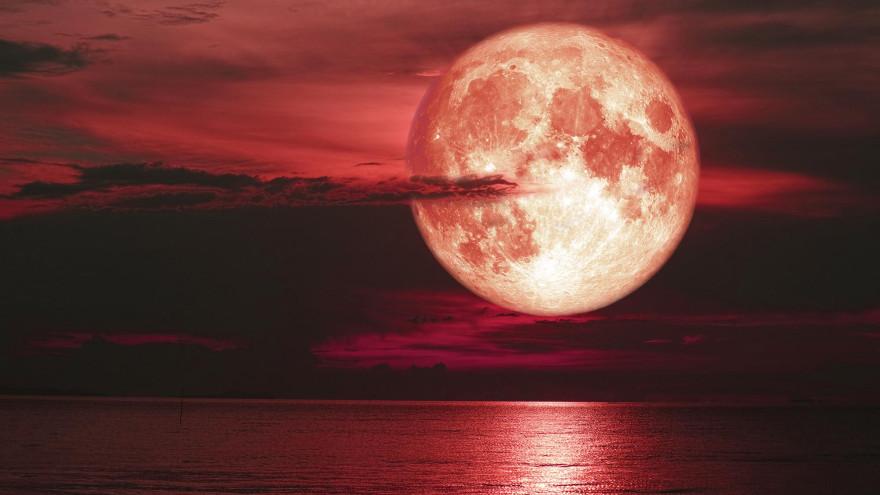 Полнолуние в июне 2021 года: чем коварна «клубничная» Луна