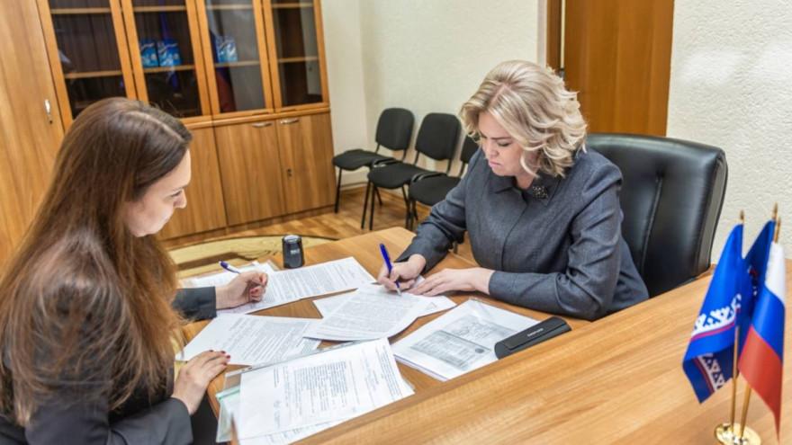 Ирина Соколова подала документы на участие в предварительном голосовании «Единой России»