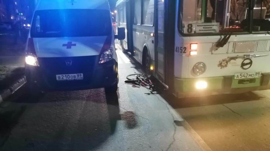 В Ноябрьске водитель автобуса сбил велосипедиста