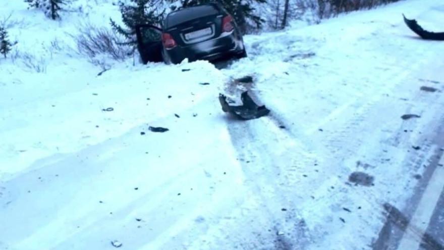 На Ямале девочка скатилась на тюбинге под колеса авто