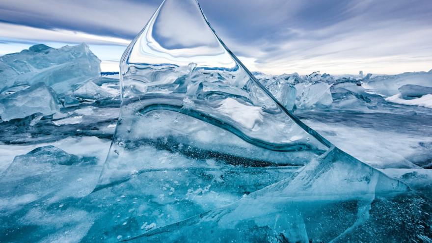 Во льдах Антарктики впервые обнаружили микропластик