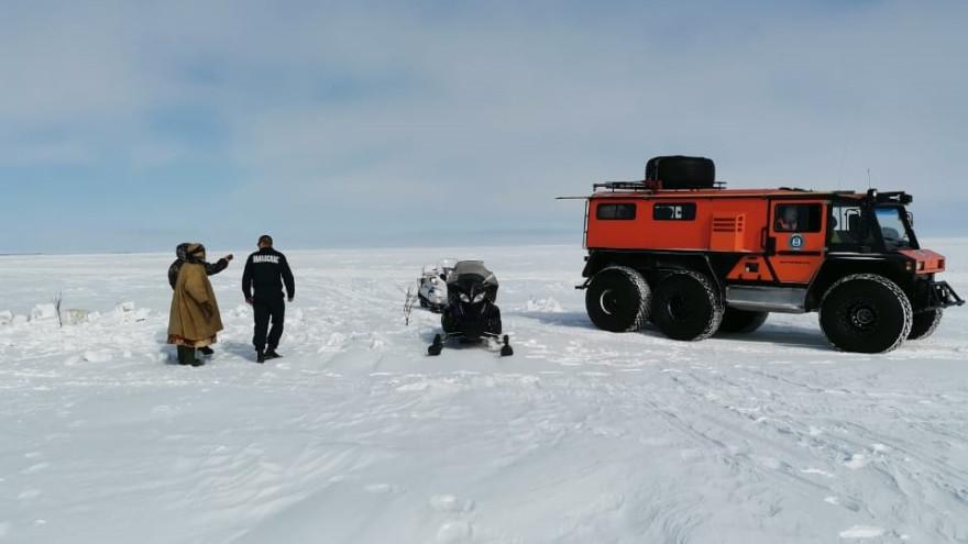 Пешком по зимнику в мороз: на Ямале спасатели искали замерзающего мужчину
