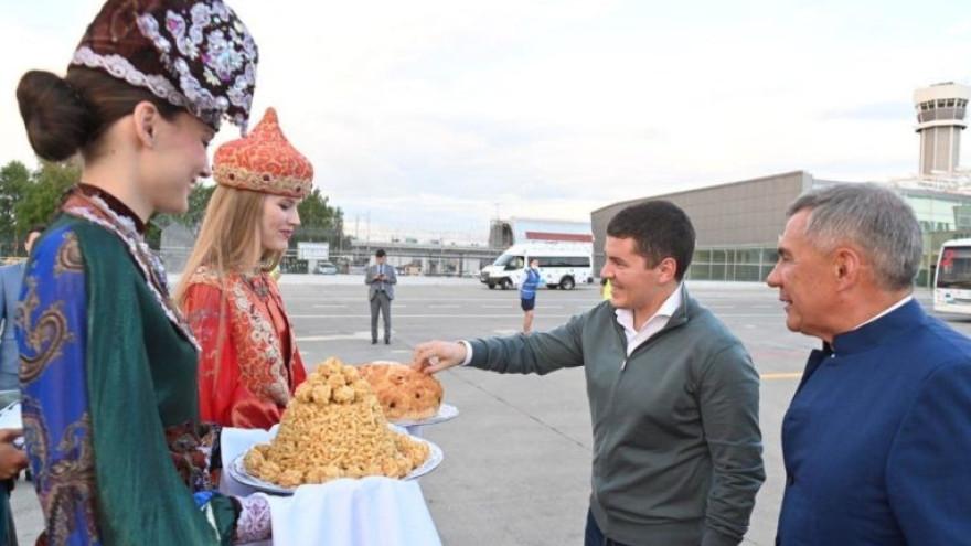 Дмитрий Артюхов прибыл с визитом в Казань