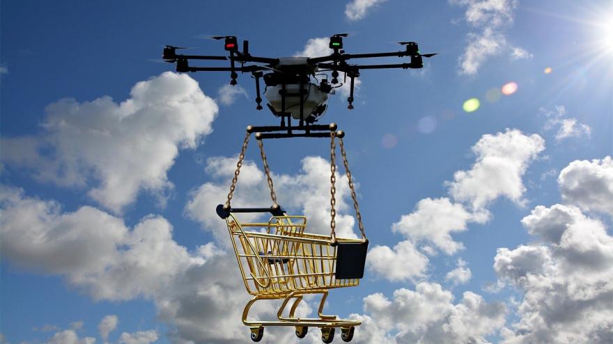«Почта России» запустит на Ямале доставку посылок дронами