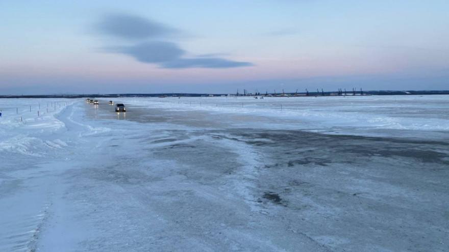 Ледовую переправу Салехард-Лабытнанги могут закрыть в ближайшее время