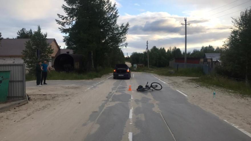На Ямале велосипедист пострадал после ДТП с иномаркой