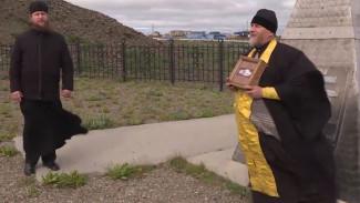 Историческое событие. На Чукотку прибыл ковчег с мощами Александра Невского