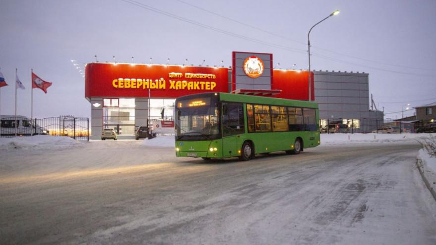В новогодние праздники в Салехарде изменится расписание общественного транспорта