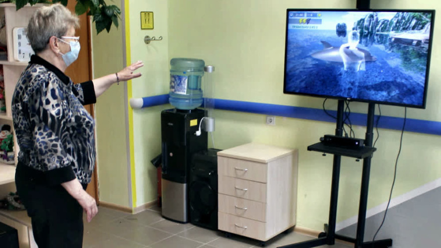 В ЯНАО люди проходят реабилитацию с помощью виртуальной реальности