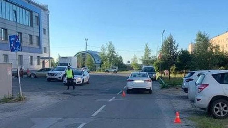 В Ноябрьске женщина за рулём иномарки сбила 8-летнего ребенка