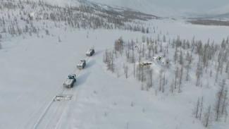 «Арктический патруль» с Евгенией Любимской побывал на Горнохадатинском участке природного парка «Полярно-Уральский»