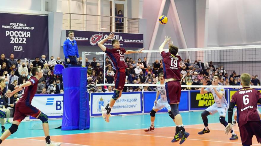 На Ямале создадут академию волейбола «Факела»
