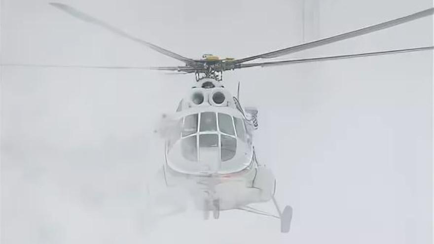 В Новом Уренгое из-за метели задержали вертолетный рейс