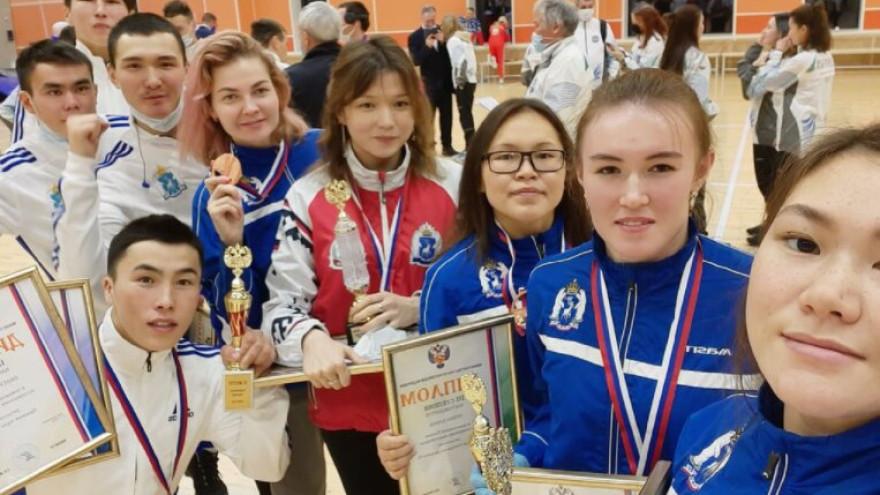 Впервые за 14 лет сборная ЯНАО завоевала «золото» на чемпионате России по северному многоборью