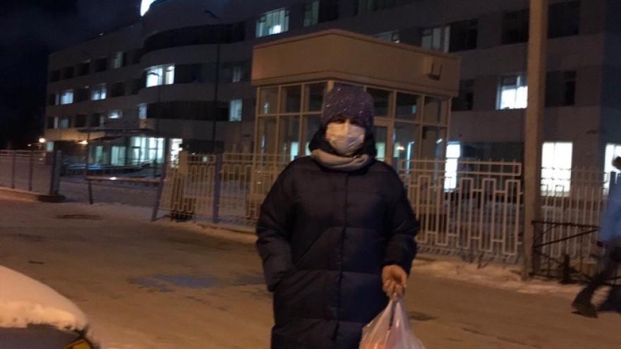 На Ямале волонтеры помогли молодой маме, попавшей в ковид-госпиталь