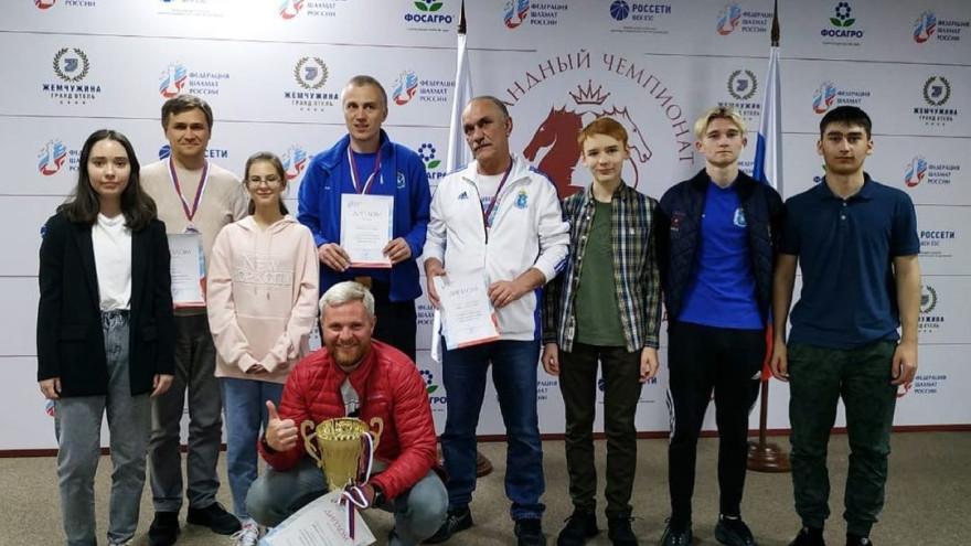 Ямальские шахматисты взяли «серебро» на чемпионате России