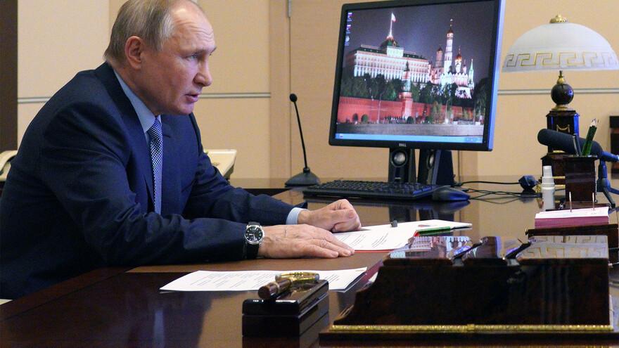 Названа дата оглашения послания президента РФ Владимира Путина Федеральному собранию