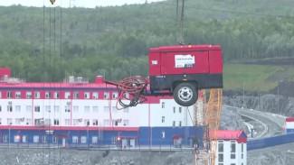 В Мурманской области устанавливают морскую эстакаду для «Арктик СПГ 2»