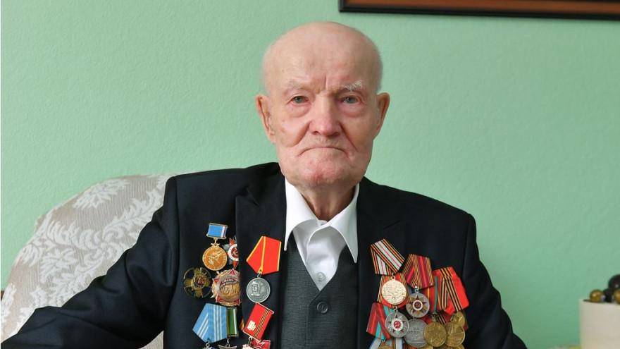 95-летний юбилей отмечает ветеран Великой Отечественной войны Николай Тимофеевич Шакуров