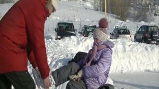 В Салехарде выписывать пируэты на льду можно абсолютно бесплатно: видео