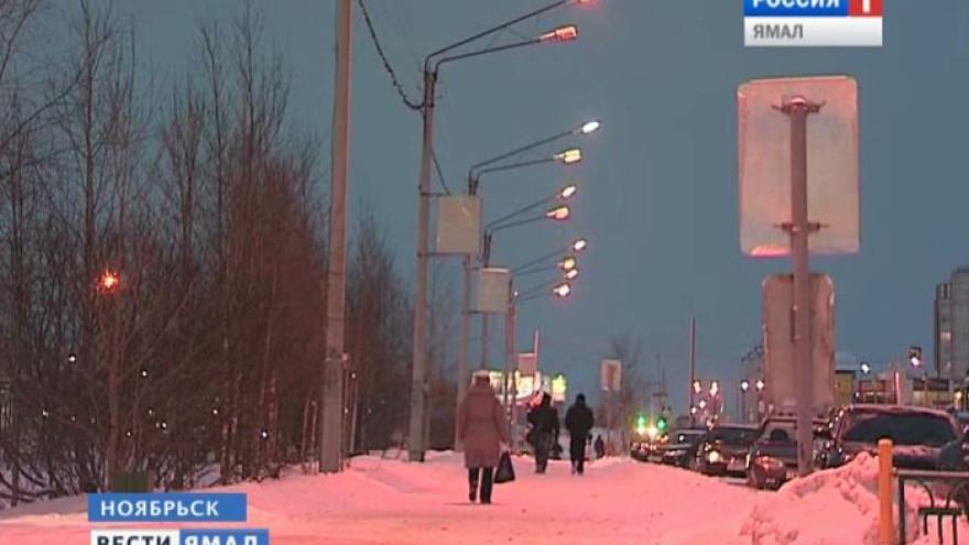 Накануне вечером в Ноябрьске столкнулись сразу 3 иномарки