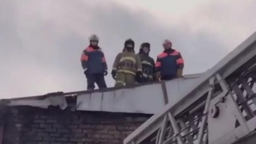 В Ноябрьске чуть не сгорело в пожаре два автобуса