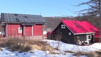 В Магадане появился первый дом на солнечных батареях