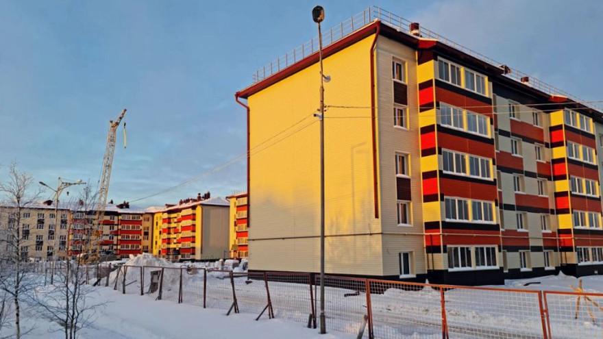 В Пуровском районе возводят 5 многоквартирников: на каком этапе строительство