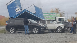 Мощный шторм на Ямале: ветер снёс остановку