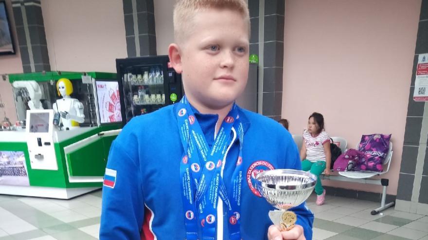 Юный спортсмен из Салехарда стал чемпионом Европы по тхэквондо