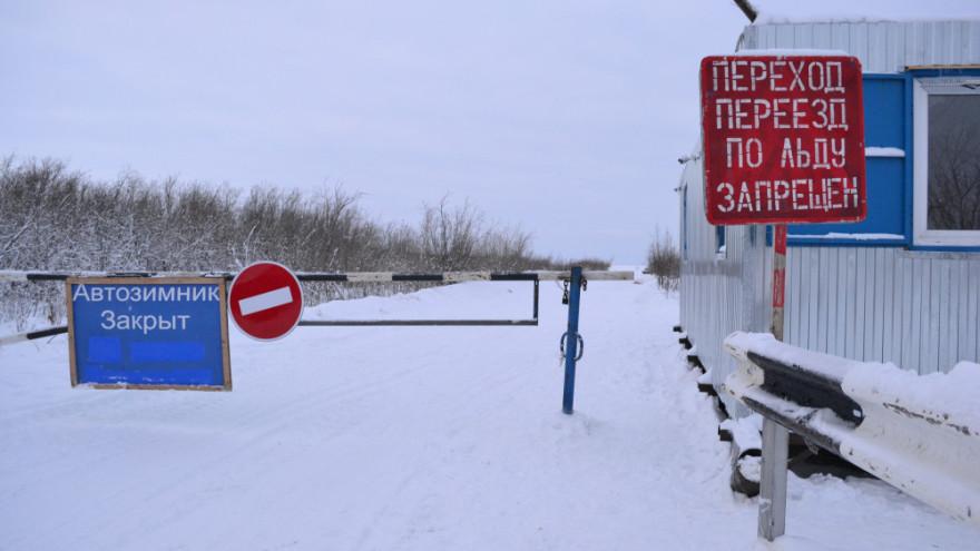 Закрывается еще один участок самого длинного зимника Ямала
